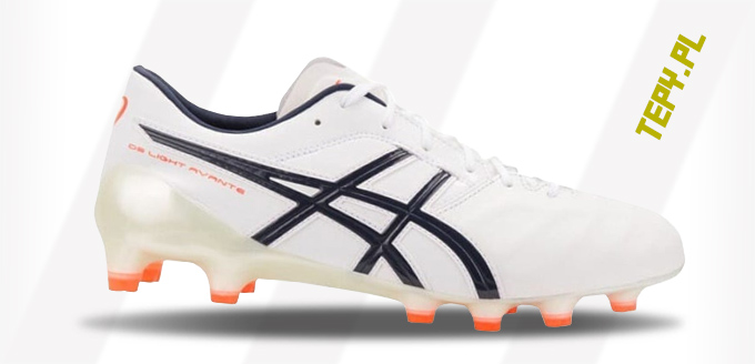 Asics DS Light X Fly 4 white tepy korki buty pilkarskie 2